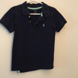 Carter's 4t polo navy and teal
